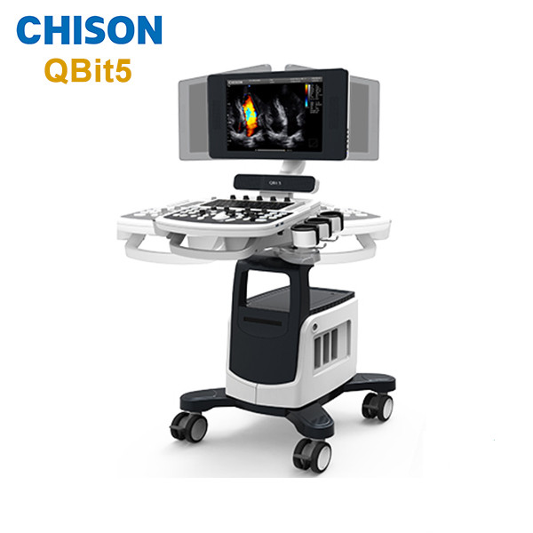 Veterinary Trolley Color Doppler Ultrasound Machine