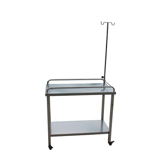 Stainless Steel Veterinary Mobile Infusion Table YSVET1103
