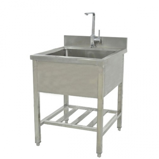 Stainless Steel Single Pool Cleaning Station YSVET-QX9101